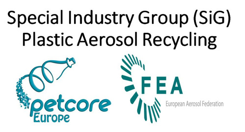 Petcore Europe launches its new Plastic Aerosol Recycling Special Industry Group