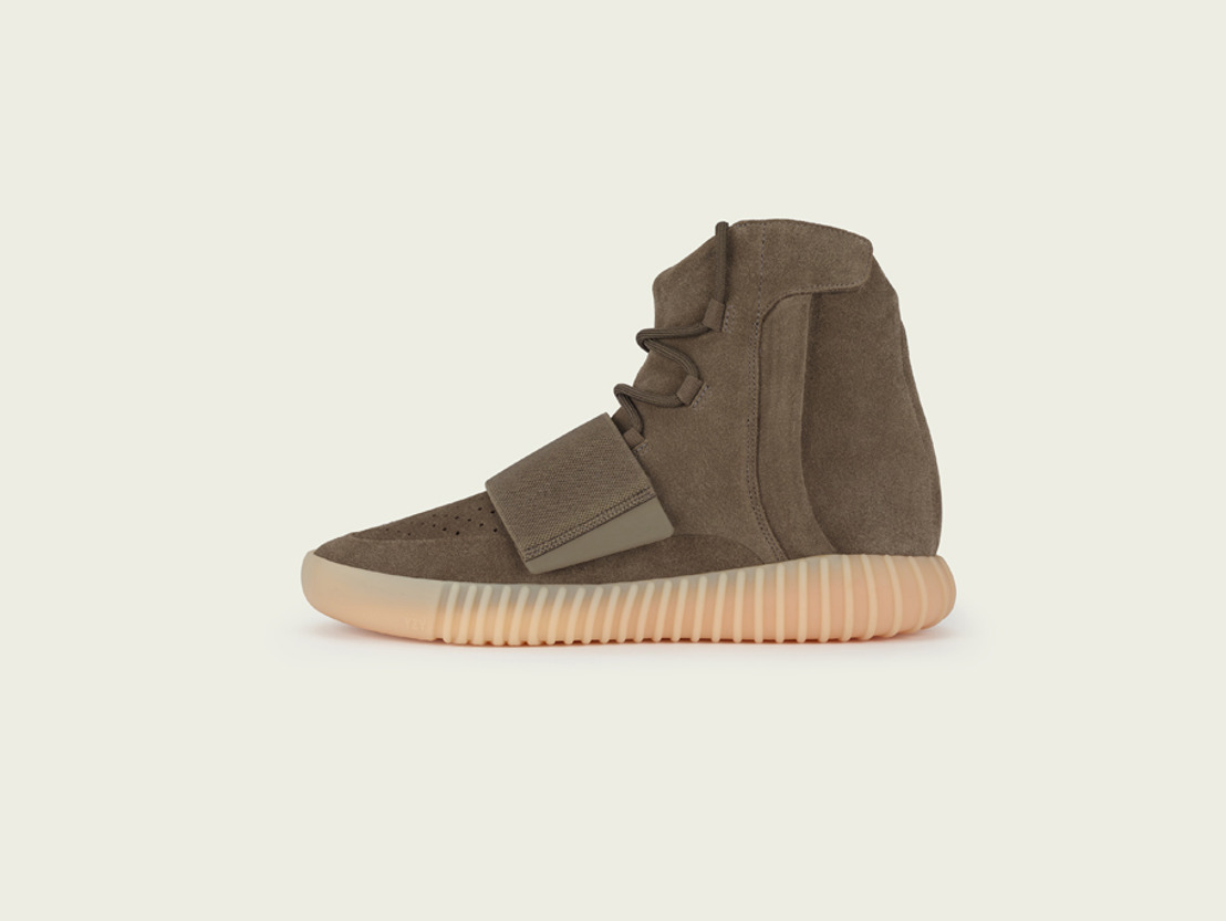 adidas + KANYE WEST = YEEZY BOOST 750 LIGHT BROWN