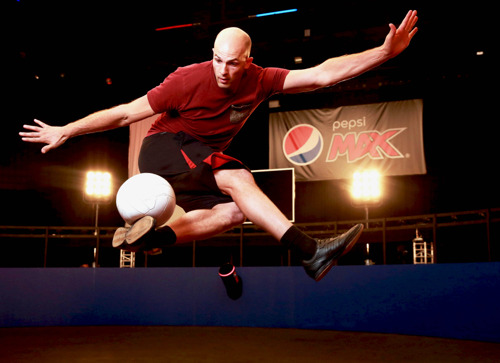 Pepsi MAX 'Volley 360'