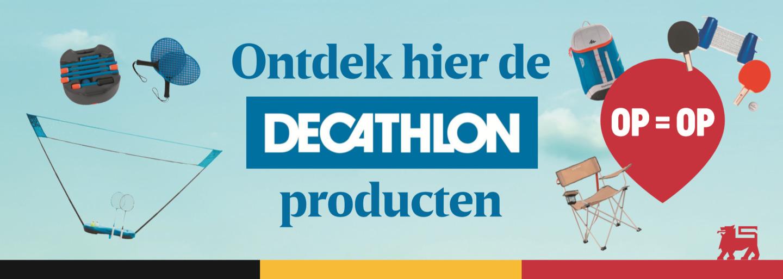 Delhaize breidt structurele samenwerking met Decathlon verder uit