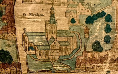 VUB-onderzoekers op zoek naar middeleeuwse bewoners Ieper