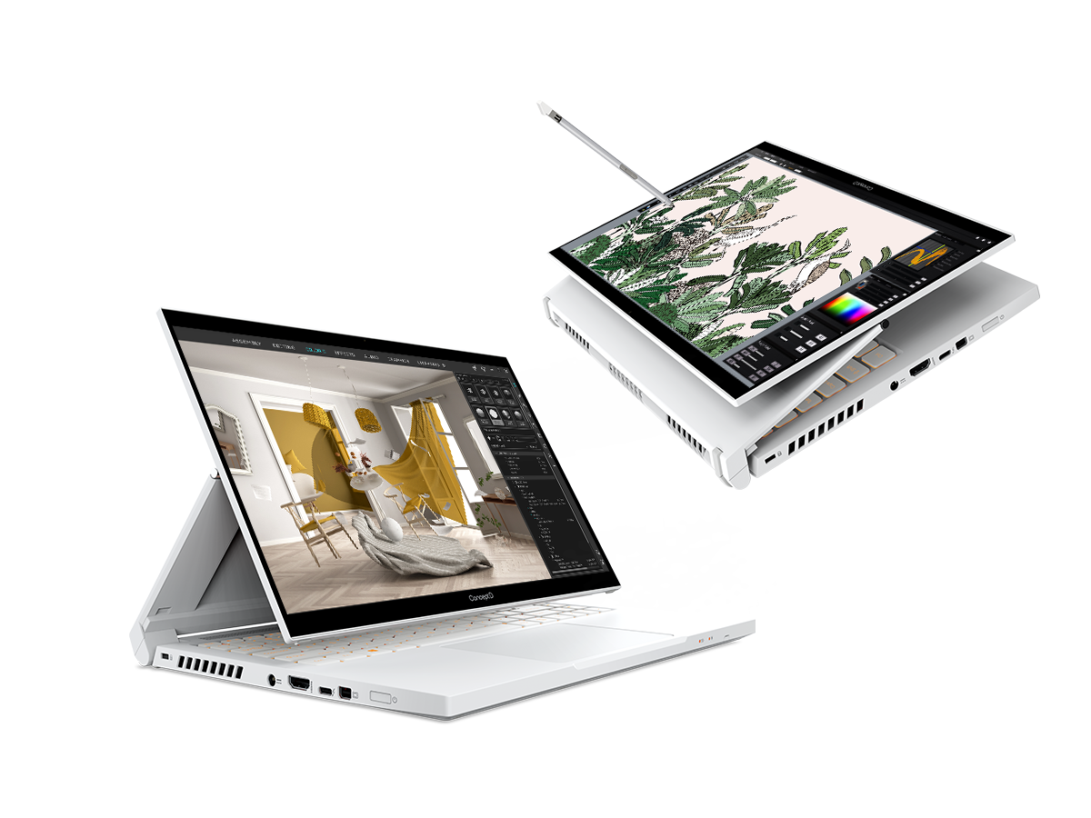 Acer ConceptD 3 Ezel and ConceptD 3