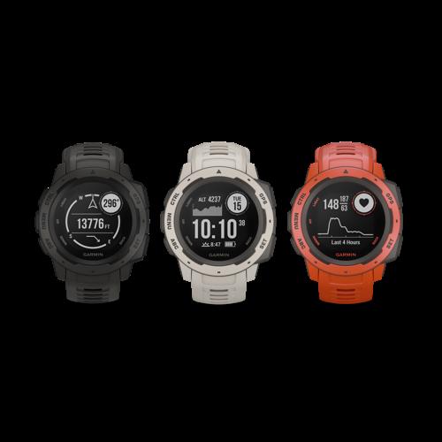 Garmin® Instinct®: een GPS-horloge gemaakt voor het avontuur