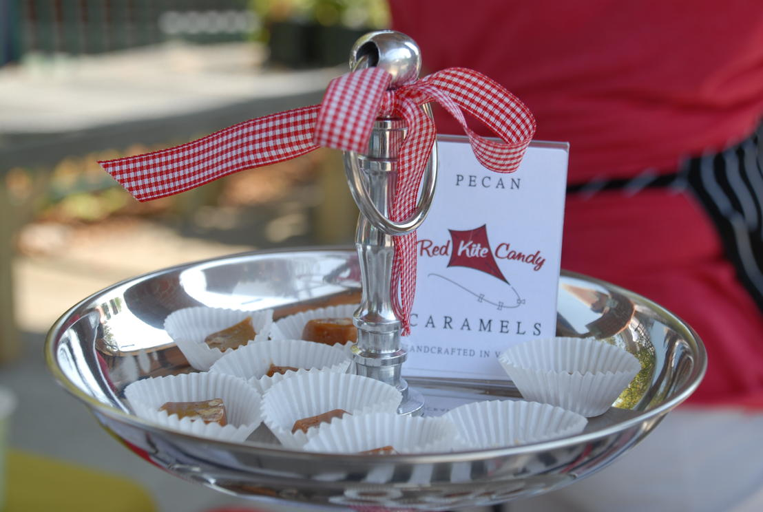 Specialty food vendors among array of samplers