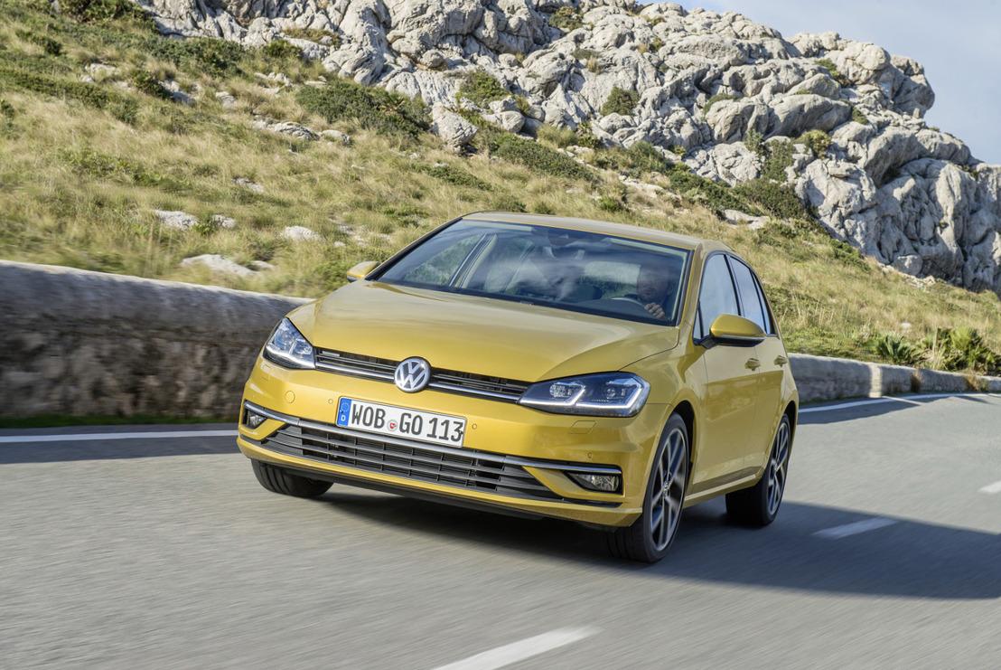 Ook in 2017 een klasse apart: de succesmodellen Volkswagen Golf, Tiguan en Touran uit Wolfsburg