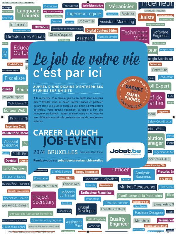 Print Ad - Career Launch FR