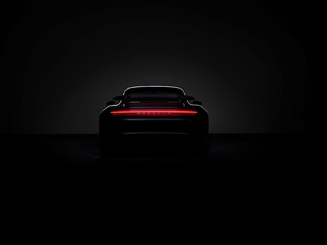 Porsche brand ambassador Mark Webber presents world premiere