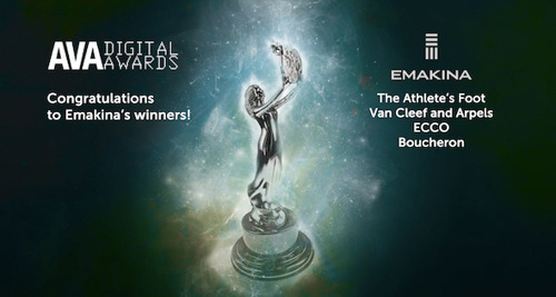 Emakina remporte 4 AVA Digital Awards