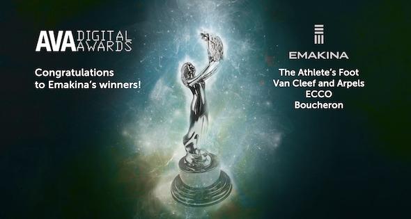 Preview: Emakina remporte 4 AVA Digital Awards