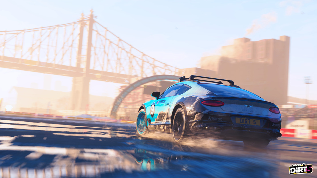 THE BENTLEY CONTINENTAL GT ICE RACE CAR IS THE LATEST THRILLING ADDITION TO THE DIRT 5™ GAME