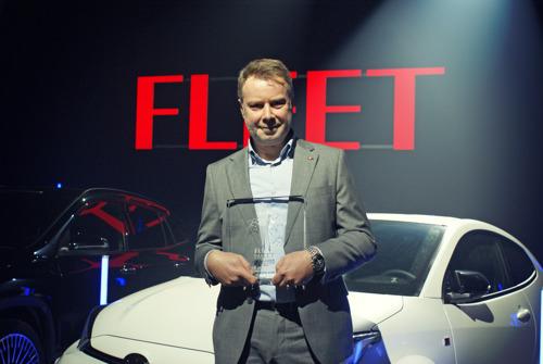 Stef Holemans élu FLEET Manager of the Year 2021