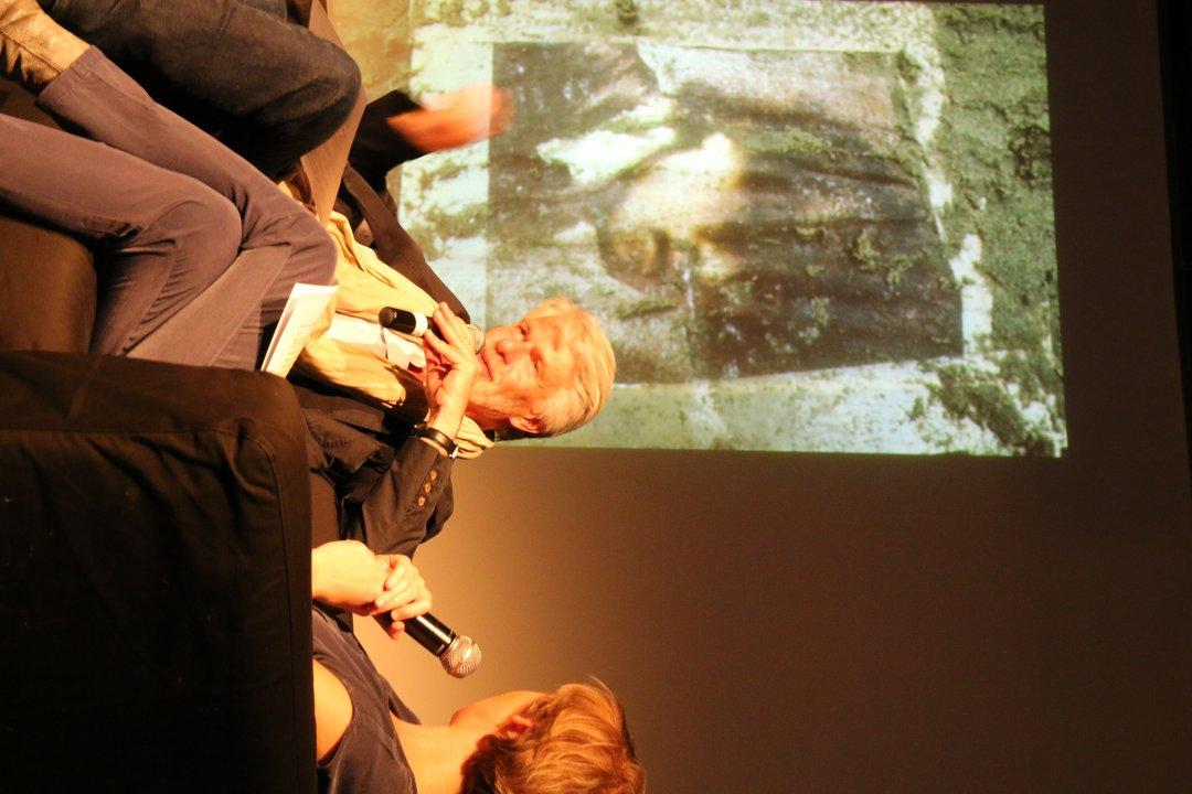 15/04/2015 Salon Magnétique met Chris Dercon - foto: Joachim Chapelle