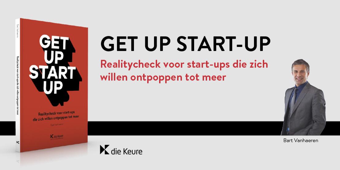 Als een startend ondernemer maar één boek per jaar kan lezen, laat het dan Get up start-up zijn
