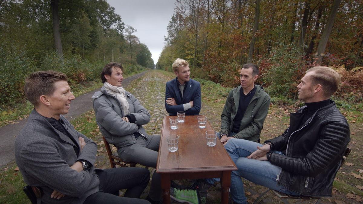 Sep Vanmarcke, Johan Vansummeren, Ruben Van Gucht, Mathew Hayman, Lars Boom – © Deklat Binnen
