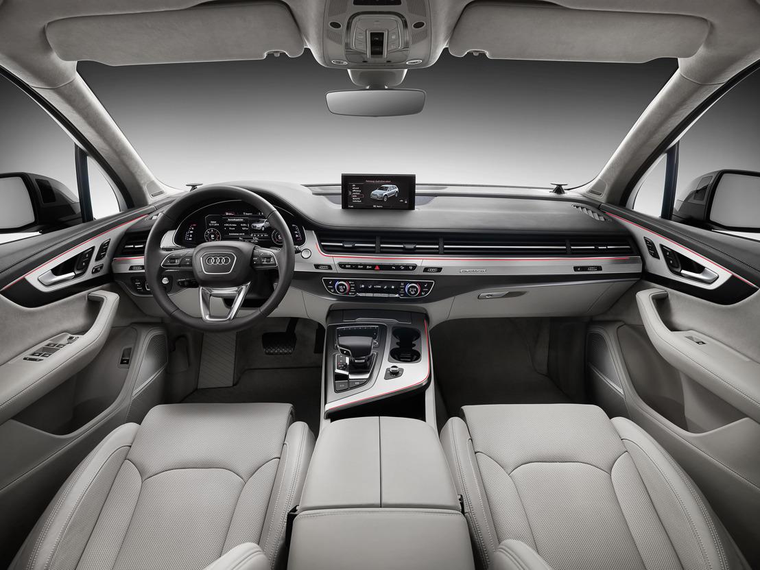 De nieuwe Audi Q7: infotainment en bijstandssystemen van de jongste generatie