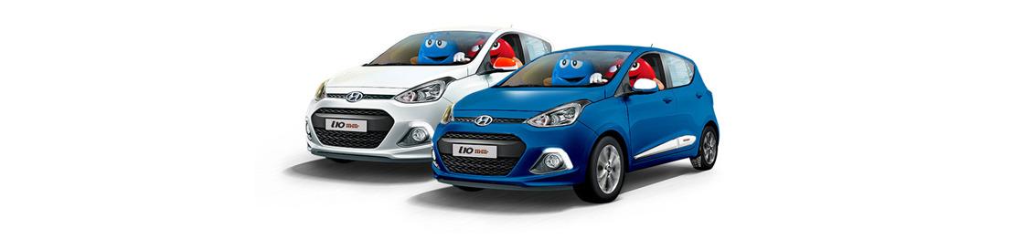 L'édition limitée M&M's® de la Hyundai i10 fait ses débuts au salon de l'automobile.
