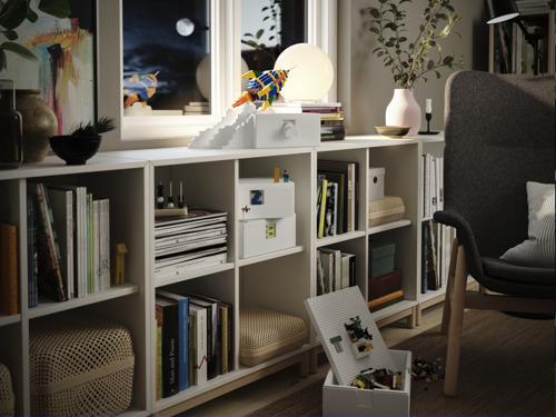 Avec la nouvelle collection IKEA et LEGO®, ranger n'a jamais été aussi fun et esthétique !