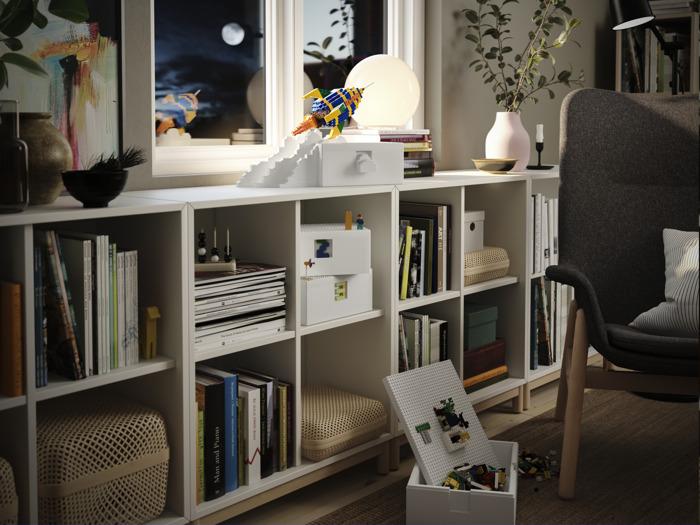 Spelen én opbergen was nog nooit zo leuk met de nieuwe BYGGLEK collectie van IKEA en LEGO®