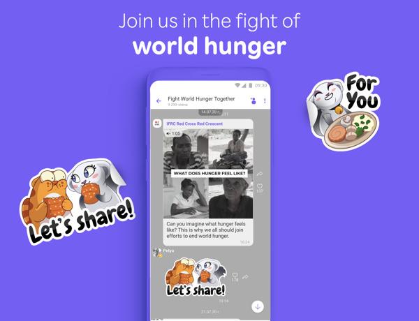 Preview: Rakuten Viber стартира кампания за борба със световния глад повлиян от кризата с COVID-19