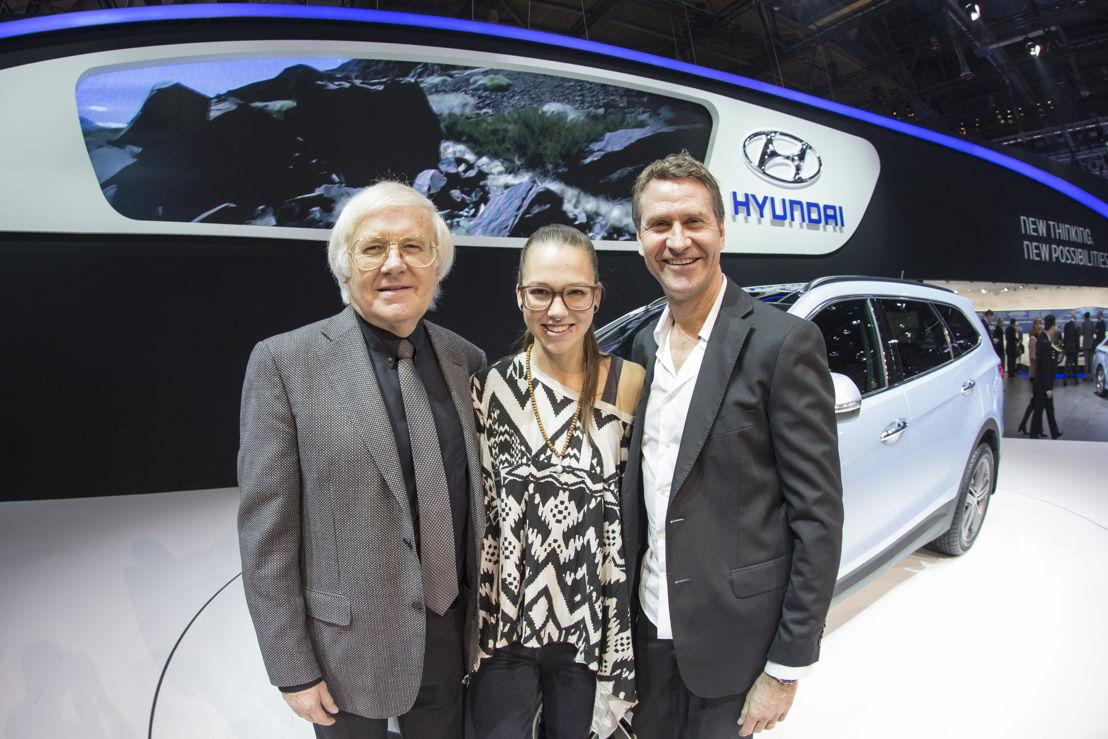 Gilbert Gress, Stefanie Heinzmann und Rob Spence