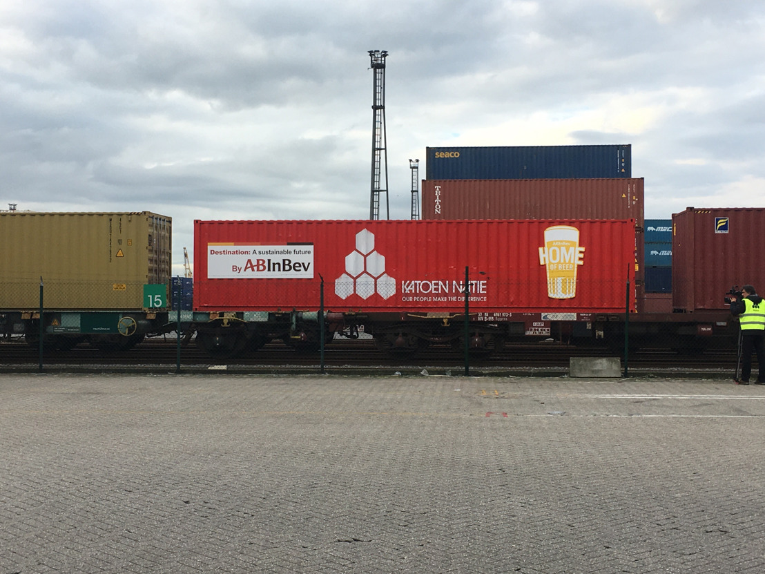 AB InBev biertrein: 20.000 vrachtwagens van de Antwerpse Ring