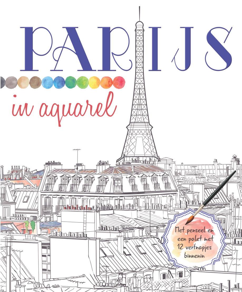 Cover 'Parijs in aquarel'
