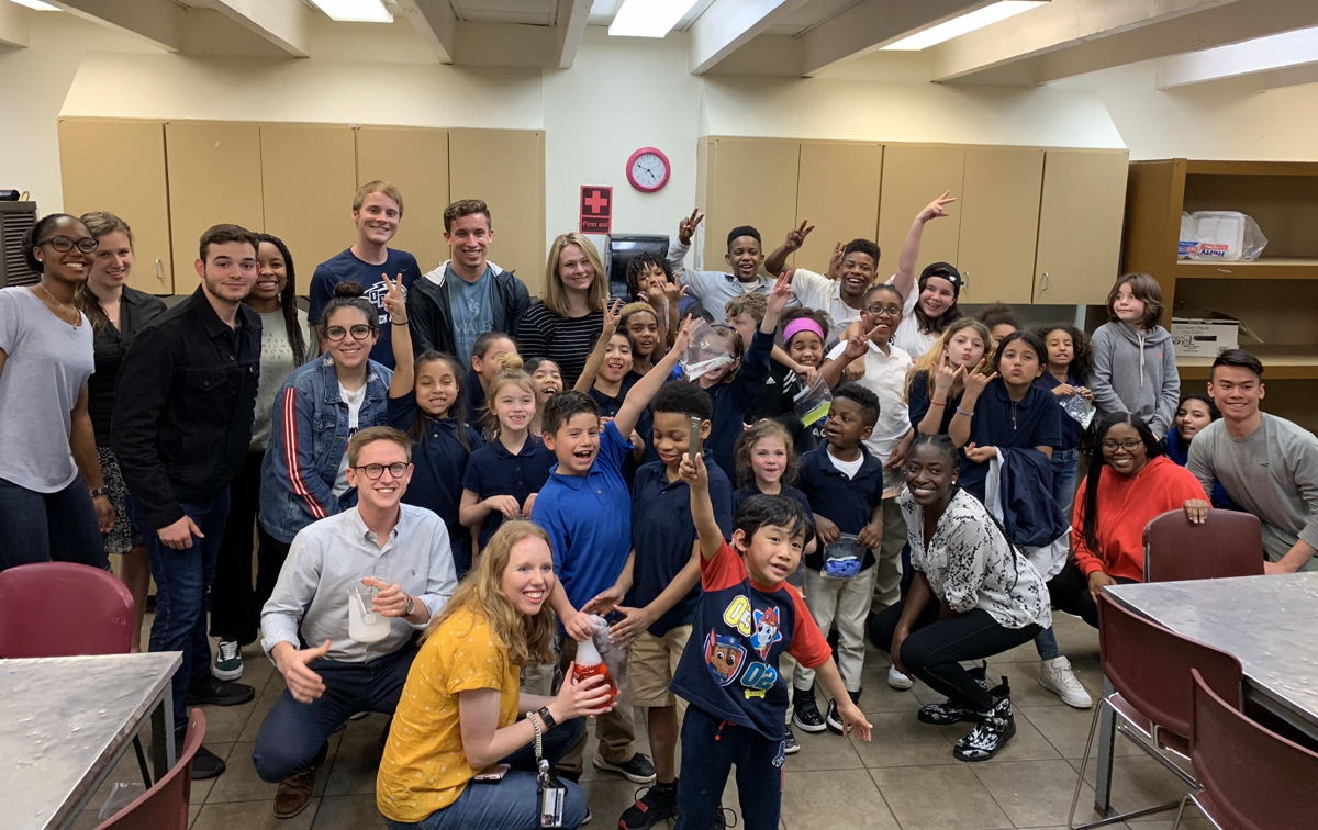 American Chemical Society - Service learning projects at the Tulsa Boys and Girls Club