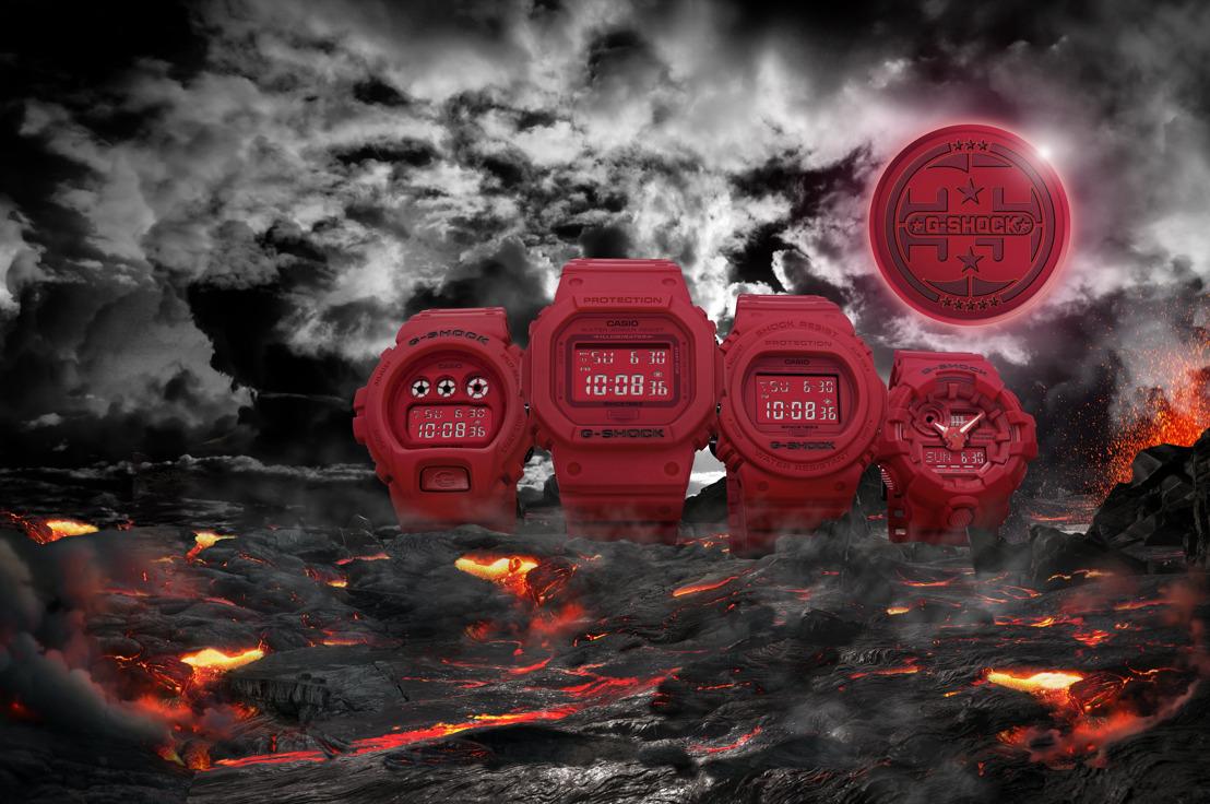 Continúa la celebración de 35 años de G-SHOCK con RED OUT