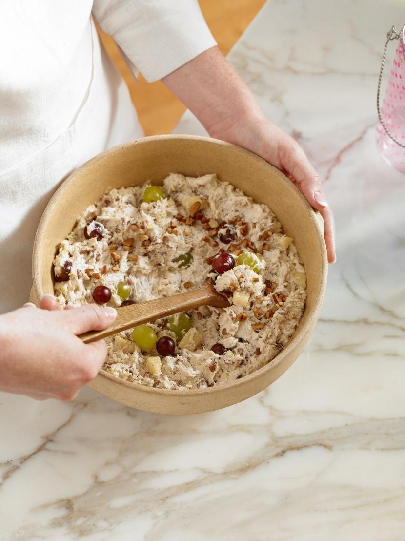 Chicken Salad Mixing Bowl (photo credit Chicken Salad Chick)