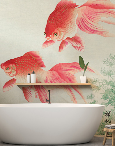 5 Bathroom Wallpapers for that Spa-Like Feel