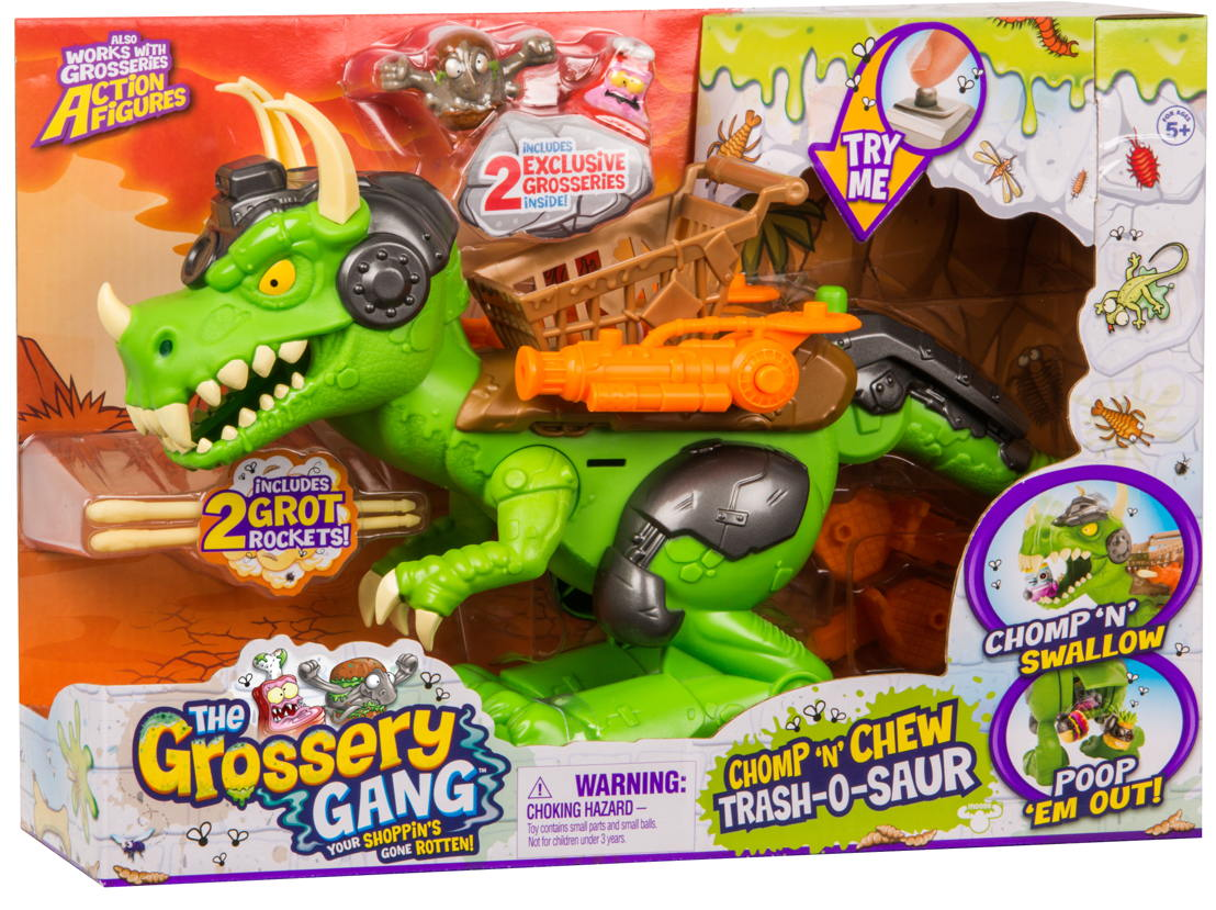 PLAYSET CHOMPnCHEW TRASH-O-SAUR