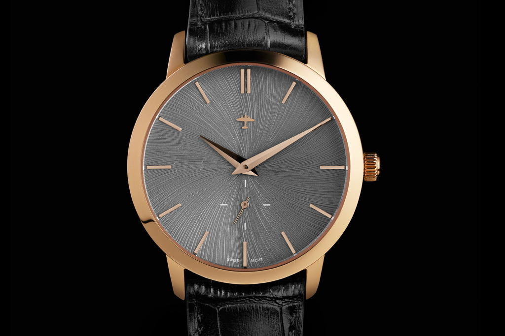Progeny Rose Gold - Schist concept dial - 3