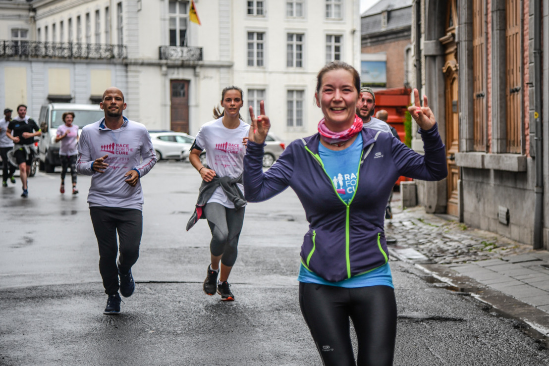 14.000 deelnemers lopen en wandelen tegen borstkanker