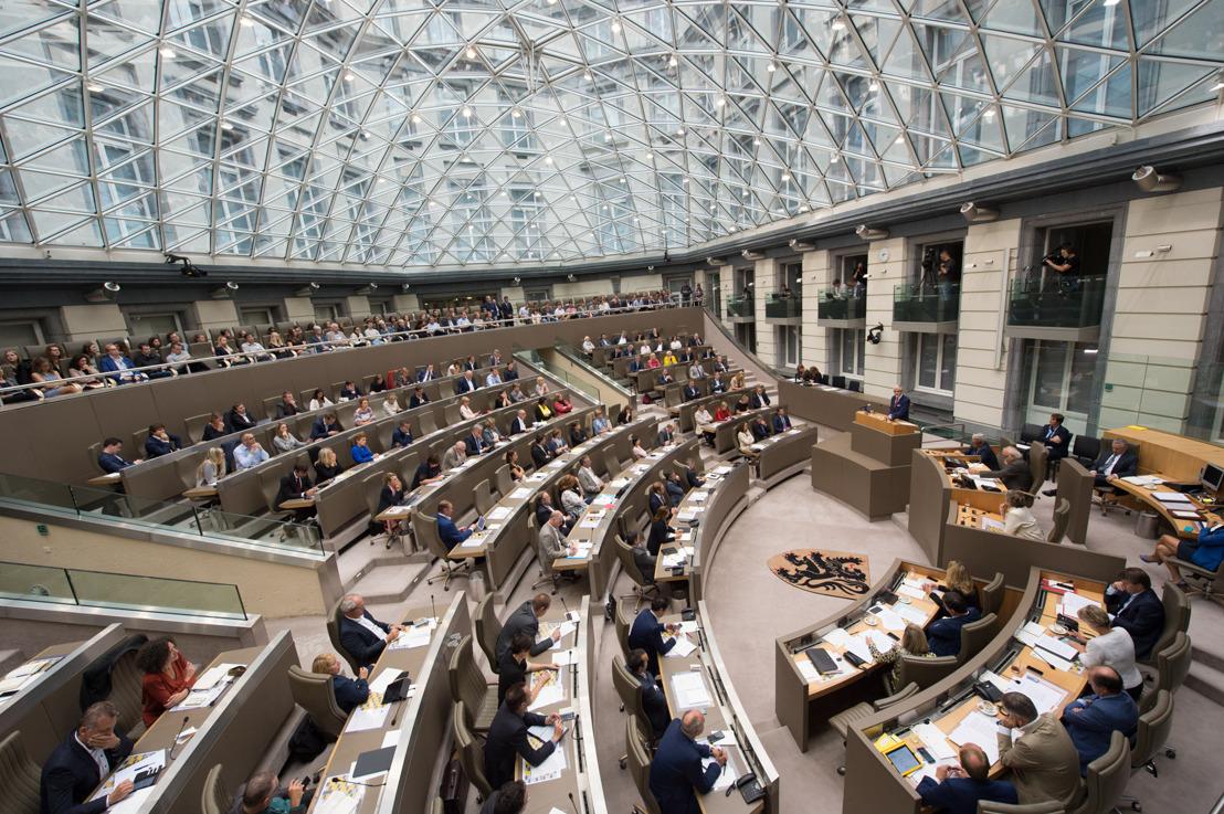 Actuele Vragen, Vlaams Parlement, woensdag 4 juli 2018, 14 uur