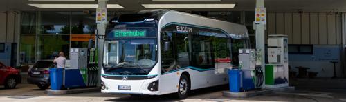 Hyundai Motor test waterstofbus