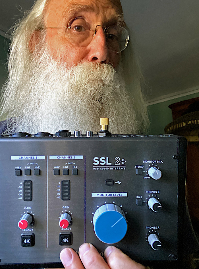Legendary Bassist Leland Sklar Turns to SSL 2+ Interface to Keep Creating During Challenging Times