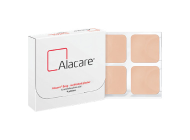 Alacare® (5-aminolevulinic acid) medicated plaster for Actinic Keratosis approved for use within Scotland