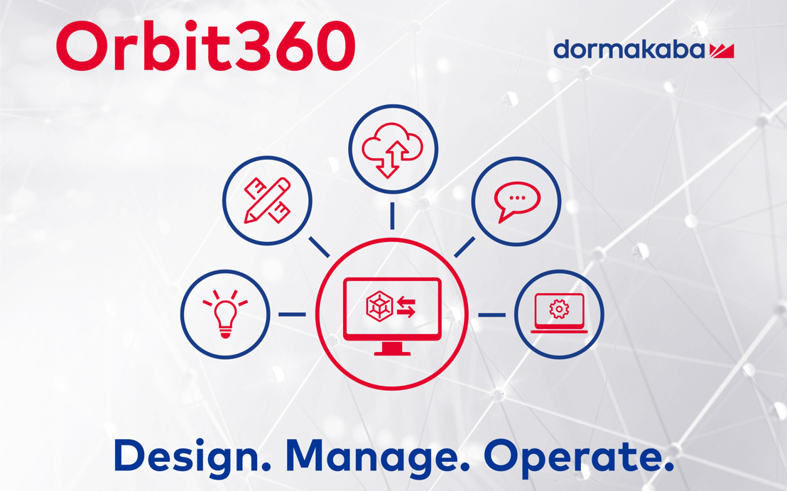 "Digital planning portal for architects and planners: dormakaba presents ""Orbit360"" at the digitalBAU 2020 trade fair in Cologne"
