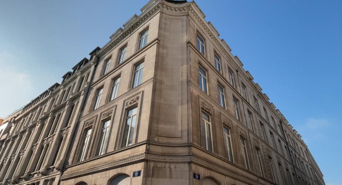KU Leuven ontwikkelt nieuwe locatie in het Pachecogebouw van Belfius Insurance. Meyboomgebouw in Zandstraat blijft bestaan!