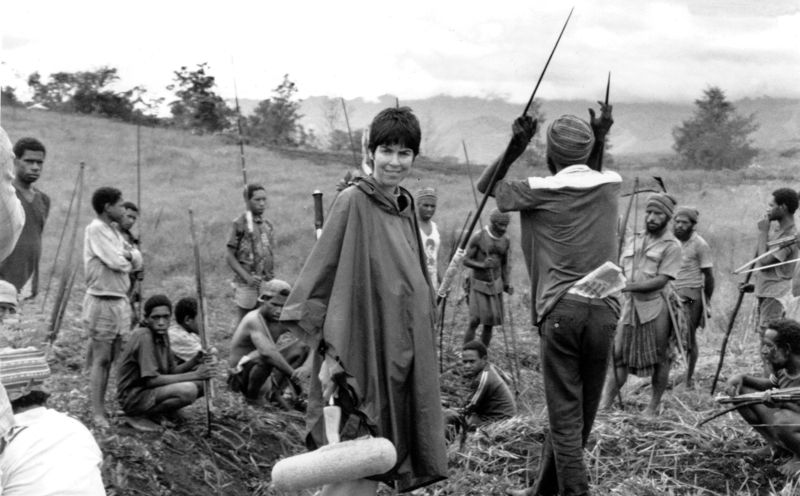 Robin Anderson and fighters, Black Harvest shoot