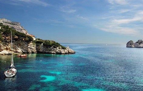 De Calanque Sormiou nabij Marseille - © OTCM