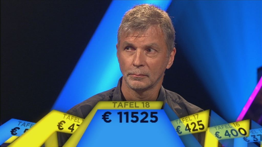 Embargo tot 3.9 om 20.00 u. - Geert Tanghe wint tafel 18