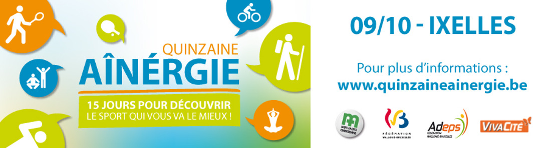 Le sport sénior: indispensable! énéoSport propose une journée d'initiation à Bruxelles
