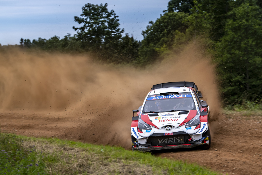 WRC Rally Estonia - Podium, Power Stage win and a streak of fastest times for the Toyota Yaris WRC