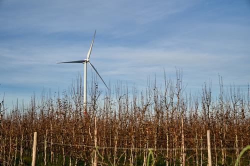 Een project van 4 nieuwe windturbines in Walcourt, Gerpinnes en Florennes