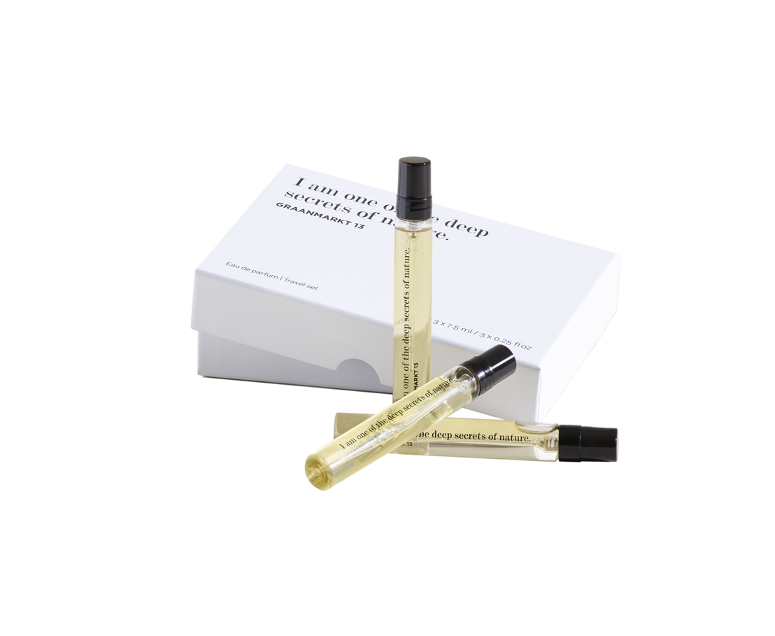 Graanmarkt 13 - Travelset Parfum - 60 euro