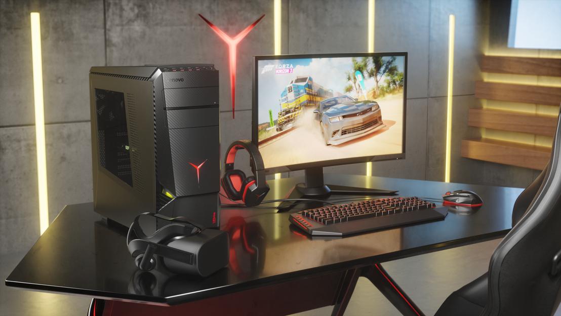 Lenovo kondigt twee nieuwe partnerships en vier nieuwe producten aan op gamescom 2017