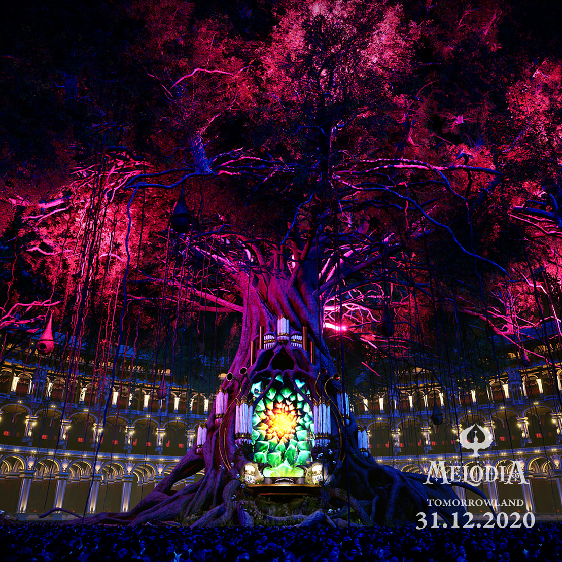 Tomorrowland is giving first sneak previews of the 4 digital stages at Tomorrowland 31.12.2020
