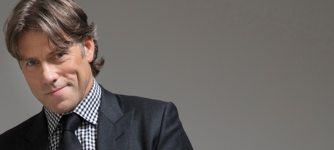 Comedian John Bishop finally in Belgium