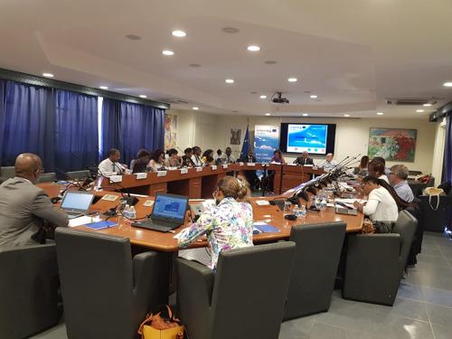 5ème Comité de Sélection du Programme INTERREG, à Saint Martin